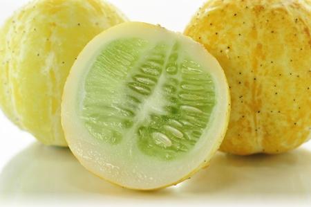 cucumbers: yellow cucumbers close up