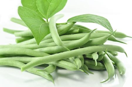 fresh green beans photo