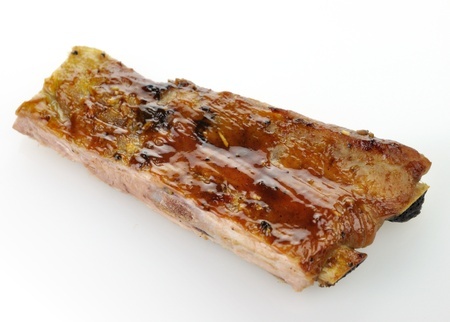 pork ribs with barbecue sauce  Stock Photo - 9040101