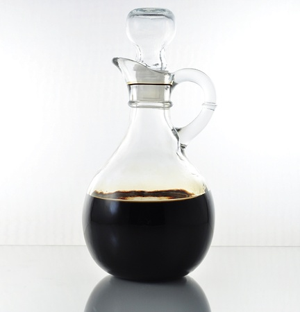 balsamic: vinegar bottle