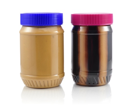 peanut butter and jelly: Peanut Butter  Stock Photo
