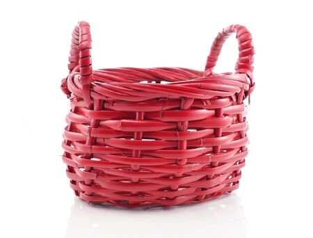 red basket Stock Photo - 9074939