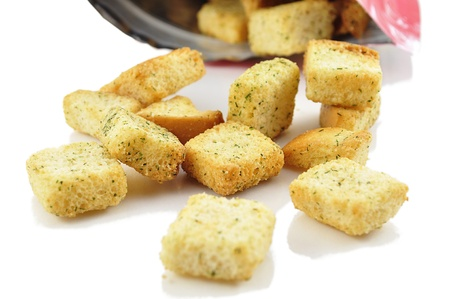 seasoned: seasoned croutons with bag