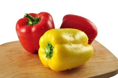 peper: red and yellow sweet peper
