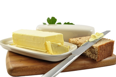 butter: butter and bread