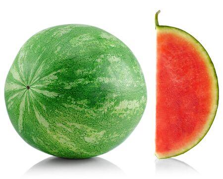 seedless: juicy seedless watermelon , close up