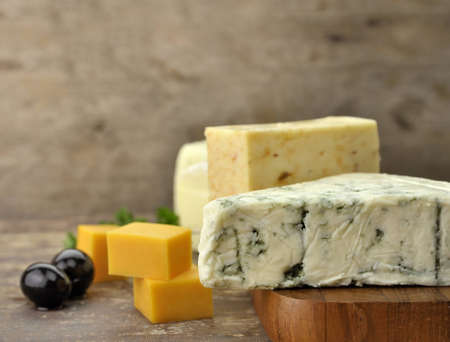 Assortment Of Cheese ,Close Up