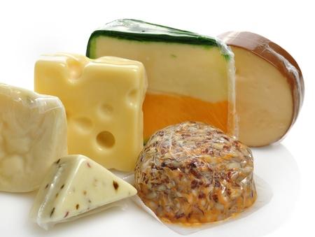 Käse-Sortiment Im Vacuum Package Standard-Bild - 13301473