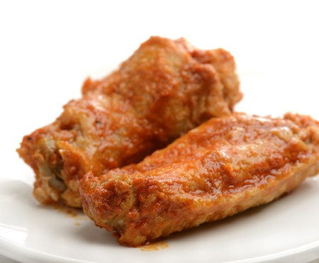 Buffalo Chicken Wings ,Close Up photo