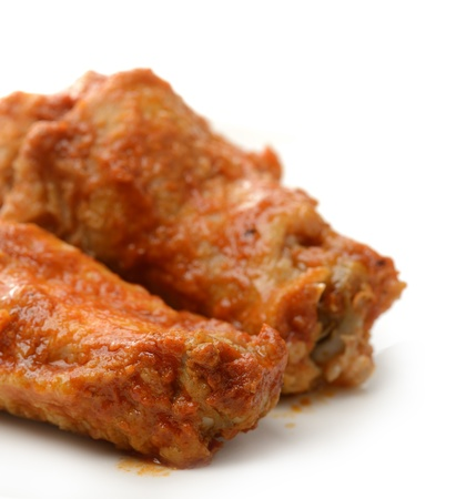 Buffalo Chicken Wings ,Close Up photo