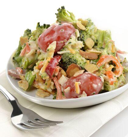 Fresh Healthy Salad ,Close Up Reklamní fotografie