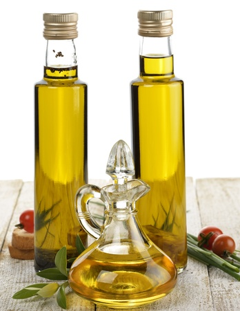 cooking oil: Assortment Of Cooking Oil With Spices