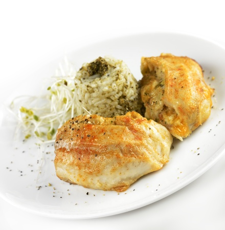 stuffed animals: Stuffed Tilapia Fillet With Rice