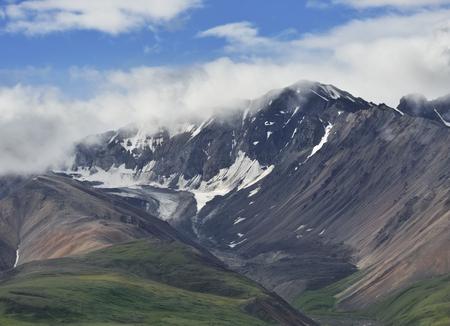 denali: Beautiful Alaska Mountains In Denali National Park