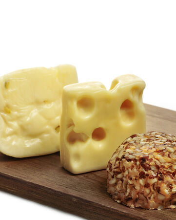 variation: Variation Of Cheese On A Cutting Board