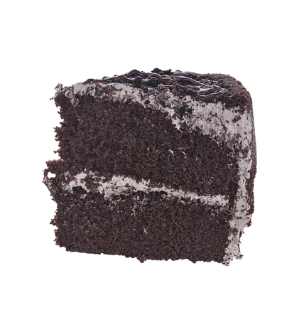 chocolate cake: Slice Of Chocolate Fudge Cake