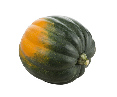 Acorn Squash isolated on white background