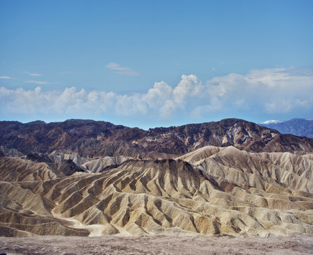 Zabriskie Point in Death Valley National Park , California, USA.