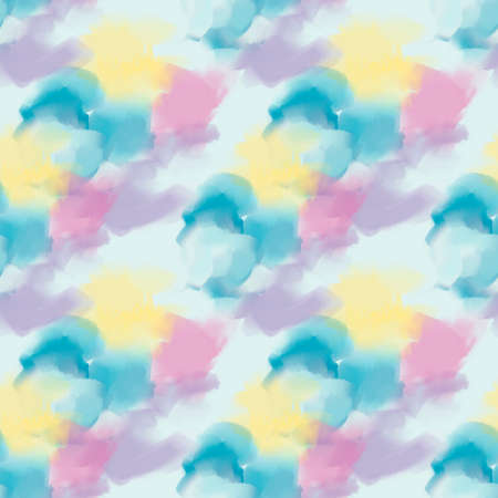 seamless watercolor pattern for background. Endless texture. 版權商用圖片