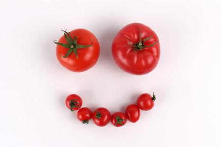 Red Tomato Face Smile
