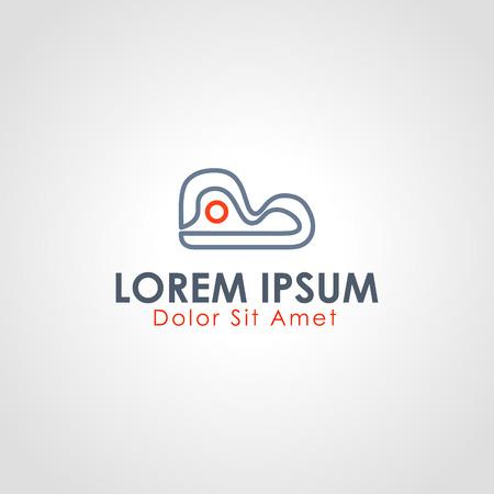 literal: mountain line logo