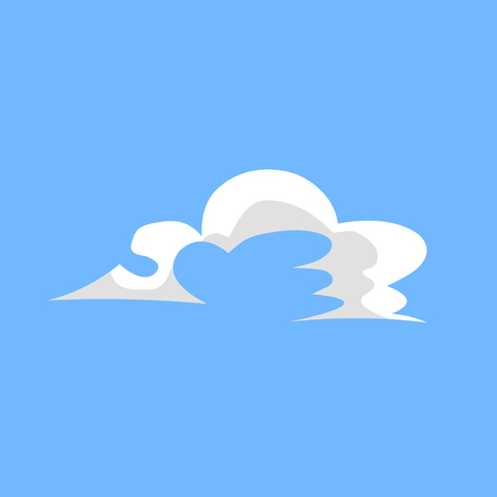 cloud shape: the cloud with taper shape