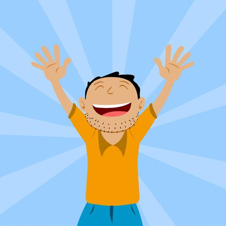 happy: Happy Man