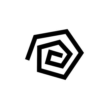 pentagon: pentagon of retro style