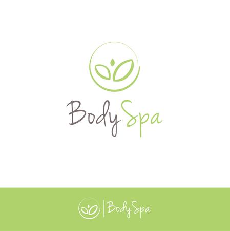 logotipo de spa corporal