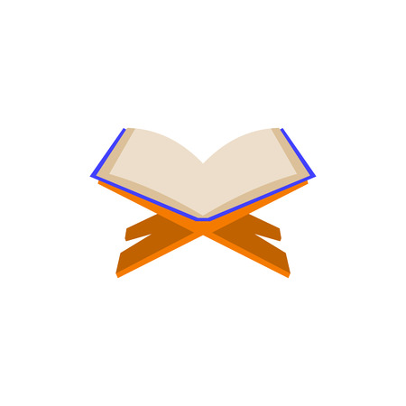 Scripture and buffer icon Illustration