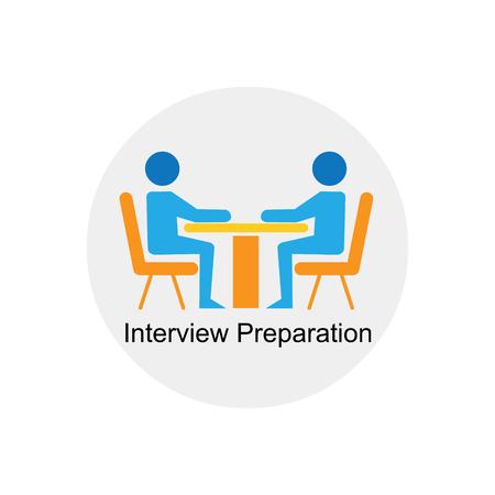 icona di preparazione intervista