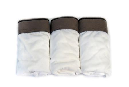 man underwear: close up of man underwear,white pants