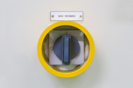 Yellow guard of switch control electrical equipment cabinet,protect