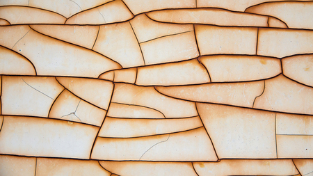 blotched: Abstract cracked of old color coat on steel plate background high resolution,texture