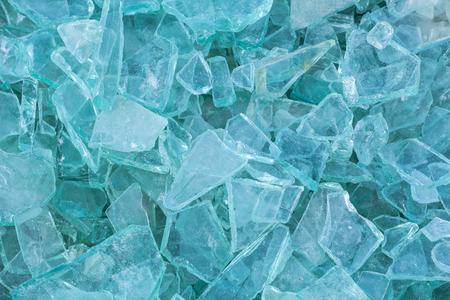 Afbeelding van cullet afvalglas voor recycling in de industrie, gebroken glas ï ½ Â, gerecycleerd
