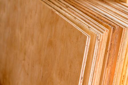 Sperrholz für Dekorationsarbeiten, Lagerbestand Standard-Bild