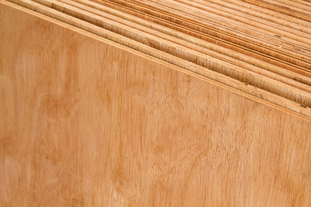 plywood for decoration work,warehouse stock Imagens - 80006291