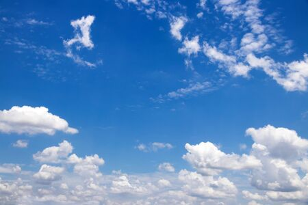 Blue sky with clouds beautiful background,many cloudy
