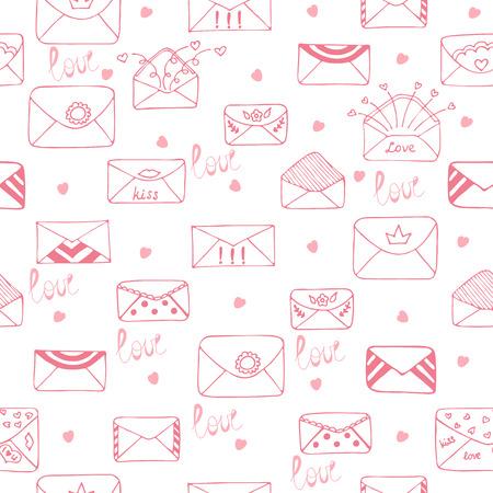 romantic: Romantic seamless pattern Illustration