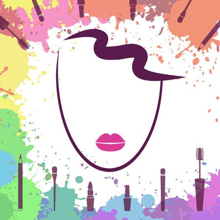 Makeup Artist Business Cards Examples  logo design ideas