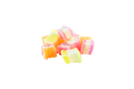 especially: Jelly colorful fresh as a dessert favorite of many people. Especially children, are not seen.