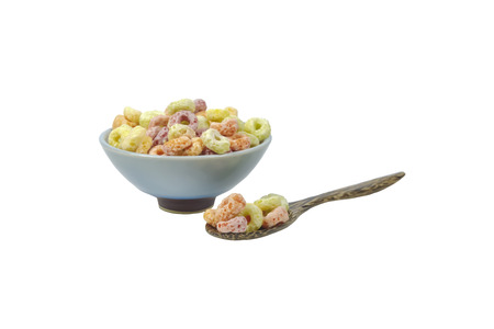 palatable: Cereal has beautiful colors make it look more palatable.