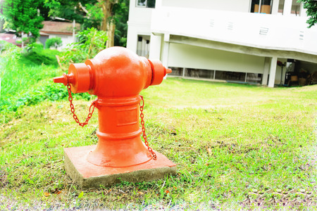 extinguishing: Water dispenser for outdoor use in extinguishing the fire.