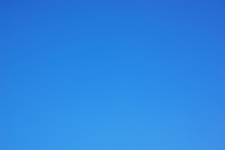 would: The cloudless sky would look like a smooth sheet of blue paper.