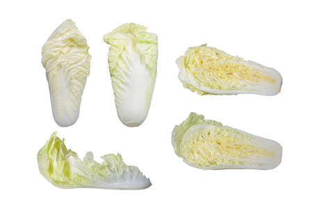 Chinese cabbage is a vegetable that can be cooked into a variety of foods, perfect for eating fresh or stir-frying. Foto de archivo