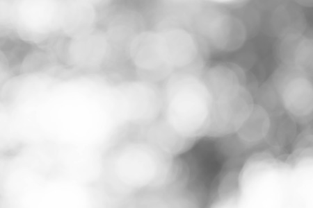 Gray bokeh blurred light abstract for background