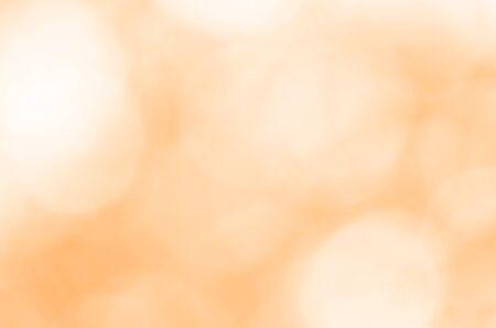 Abstract orange light bokeh background 写真素材