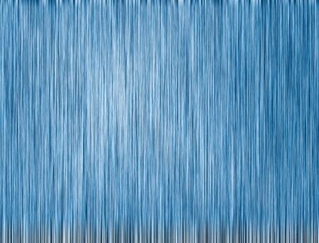 Metal blue background or texture of brushed steel plate with reflections Standard-Bild