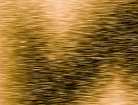 Metal gold background or texture of brushed steel plate with reflections Iron plate