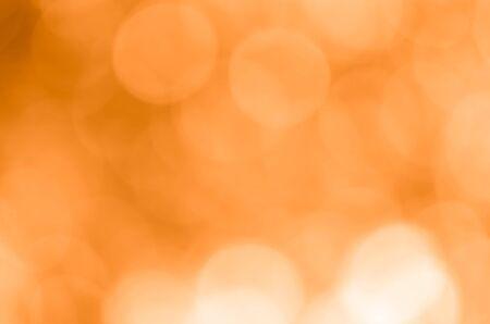 orange bokeh nature abstract background Standard-Bild
